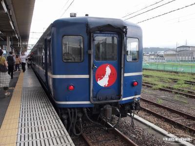 渋川駅で約30分停車