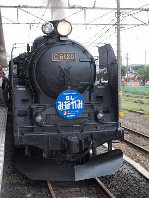 渋川駅到着