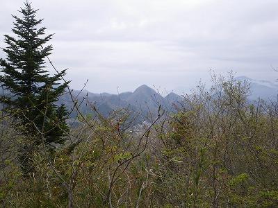 一本松山からの御前山