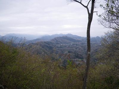 八坂山から振り返る