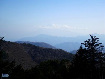 牛奥ノ雁ヶ腹摺山からの富士山