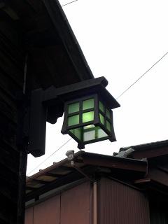 花沢の里街灯