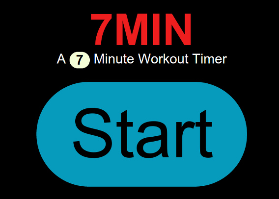 7Min :: 7 Minute Scientific Workout Timer トレーニング タイマー