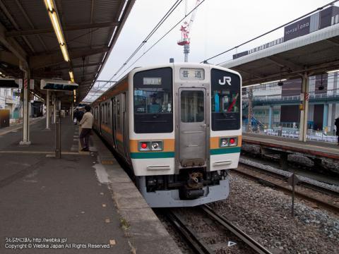 東海道本線211系電車