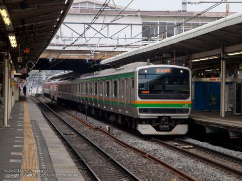 東海道本線 E231系電車