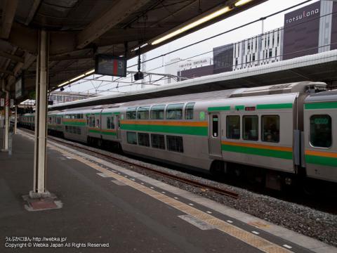 東海道本線 E231系電車のグリーン車