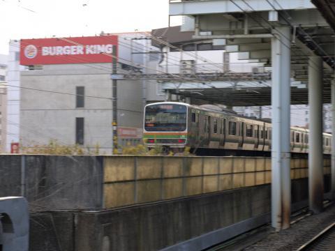 東戸塚から見た東海道本線の写真1