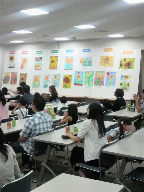 魚町銀天街チビッコ絵画コンクール表彰式2