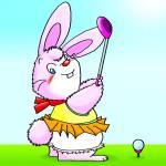 ゴルフウサギ
