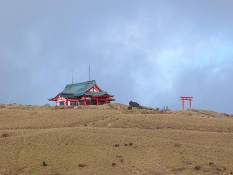2012初詣 箱根神社元宮