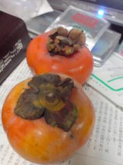 季節の果物 柿