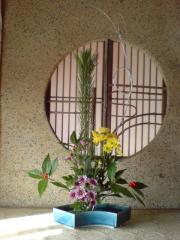 桂古流の活け花