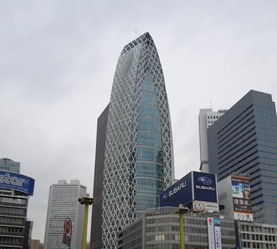 新宿のシンボル:コクーンタワー
