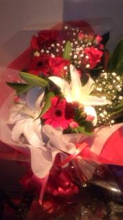 M上様から戴いた花束