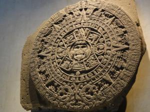 マヤ暦を記す太陽のカレンダー