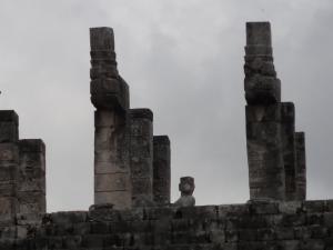 戦士の神殿上部、本物の〝チャック・モ-ル〟