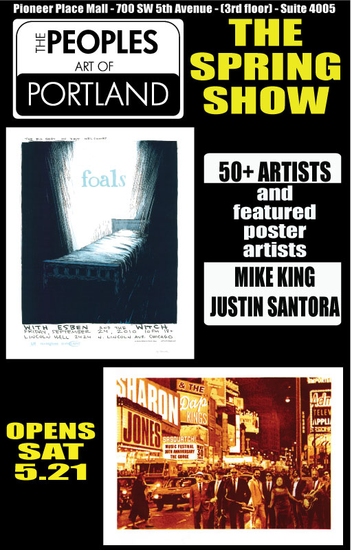 peoples art of portland -spring show