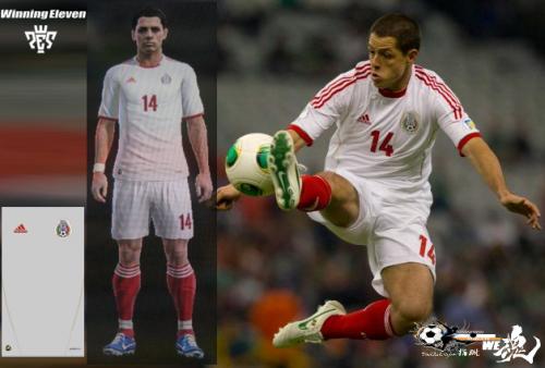Mexico 2013 adidas Third指蹴
