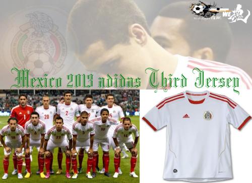 Mexico 2013 adidas Third指蹴2