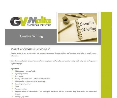 GVM creative writing pdf 1