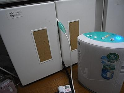 濃縮酸素発生器