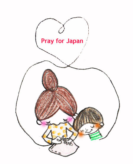 momosanpoさん pray for Japan