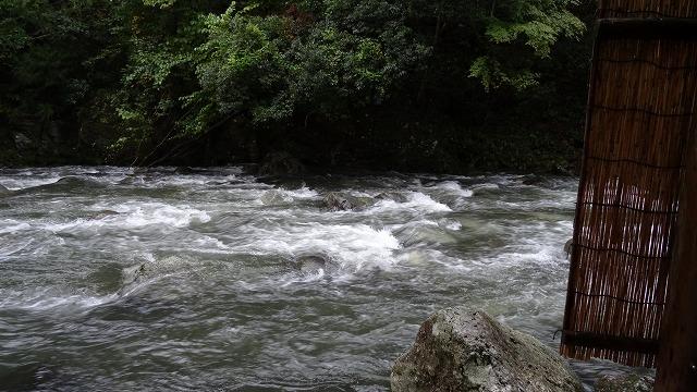 川風呂景色