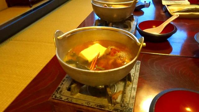 せいこがに味噌汁