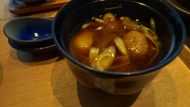 海のしょうげつ朝味噌汁
