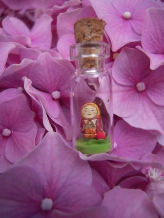 小瓶子のプレゼント