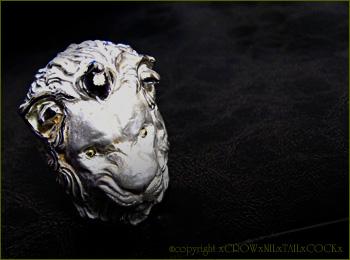 ライオンリング Silver925×K18 by クロウニルテイルコック