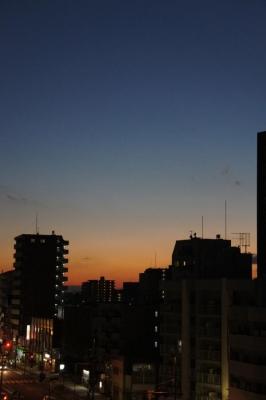 2013夕焼け