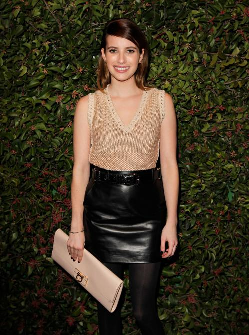 Emma Roberts at the Chateau Marmont in West Hollywood01