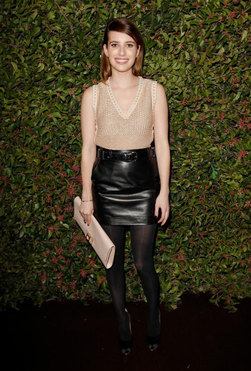 Emma Roberts at the Chateau Marmont in West Hollywood02
