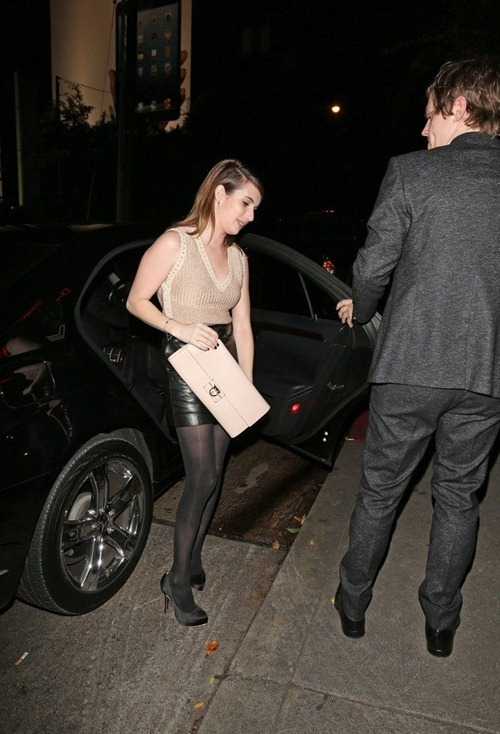 Emma Roberts at the Chateau Marmont02