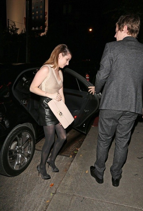 Emma Roberts at the Chateau Marmont03