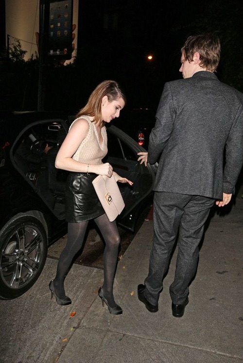 Emma Roberts at the Chateau Marmont04