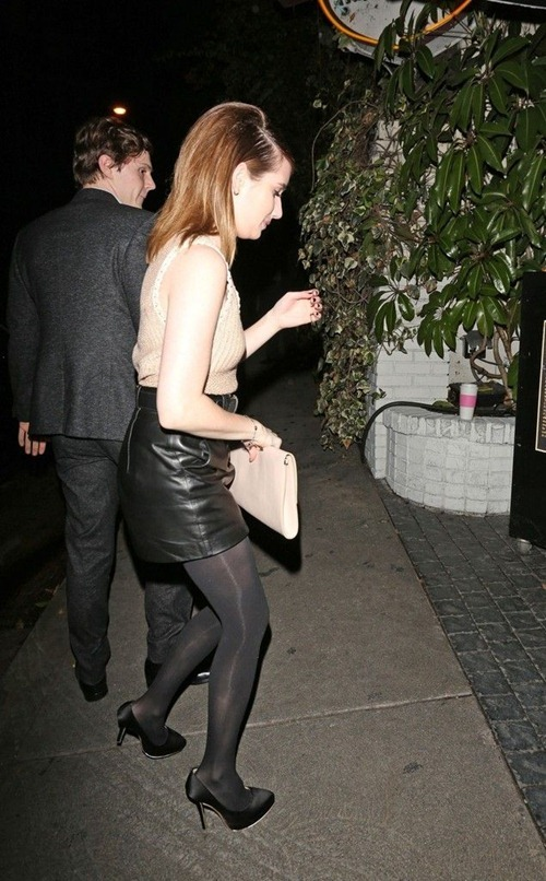 Emma Roberts at the Chateau Marmont06