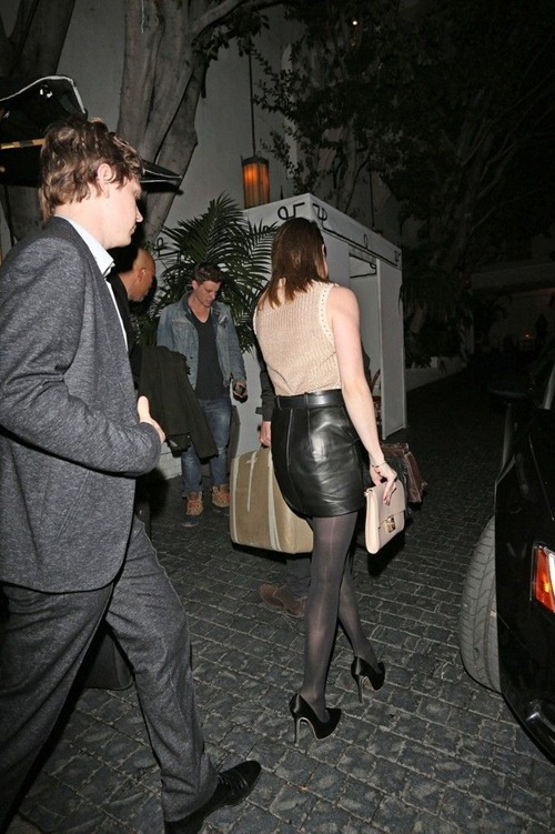 Emma Roberts at the Chateau Marmont08