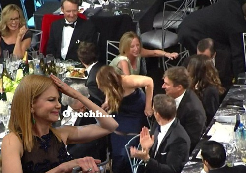 Jennifer Lawrence wardrobe malfunction SAG Awards 03