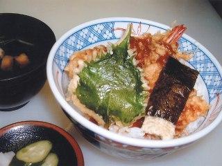 20100905天丼の天松 天丼