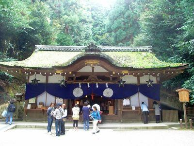 20101023狭井神社拝殿