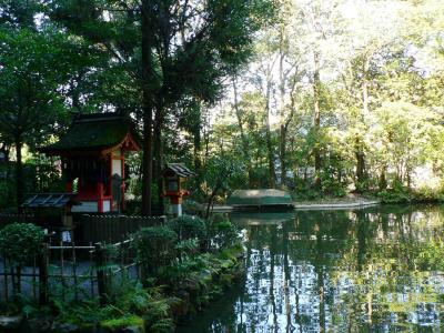 20101023狭井神社 鎮女池1