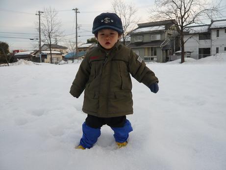 再・雪遊び