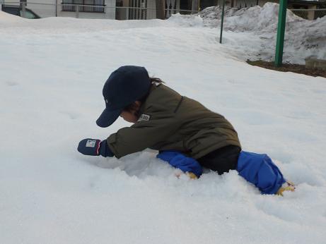 再・雪遊び3