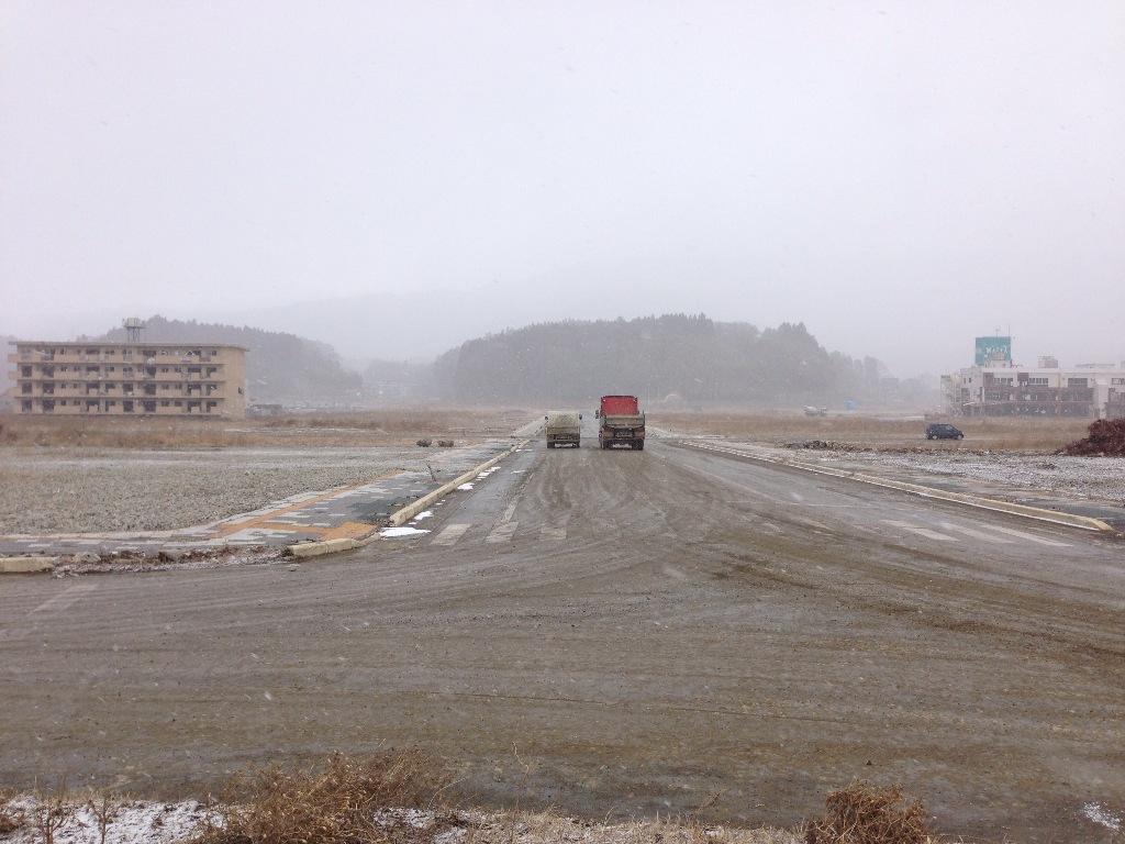 20130127陸前高田駅前