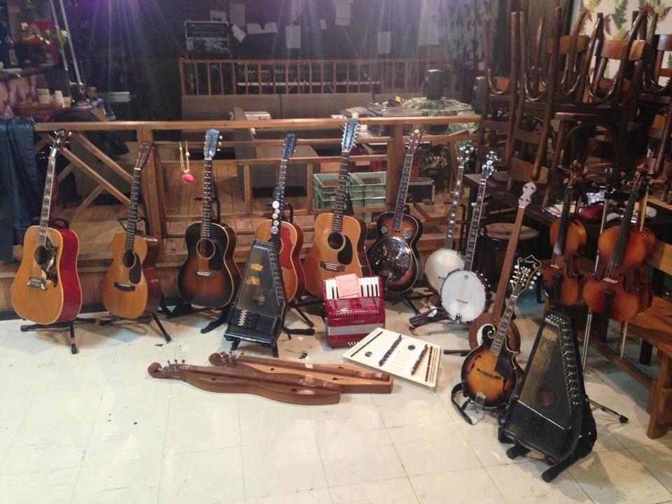 使用楽器、全員集合!