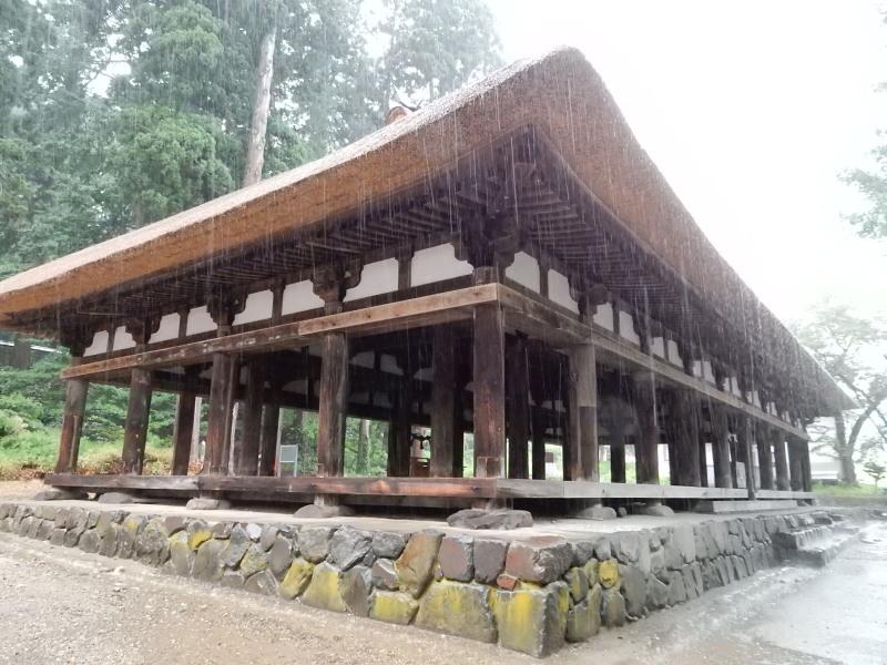熊野神社長床3