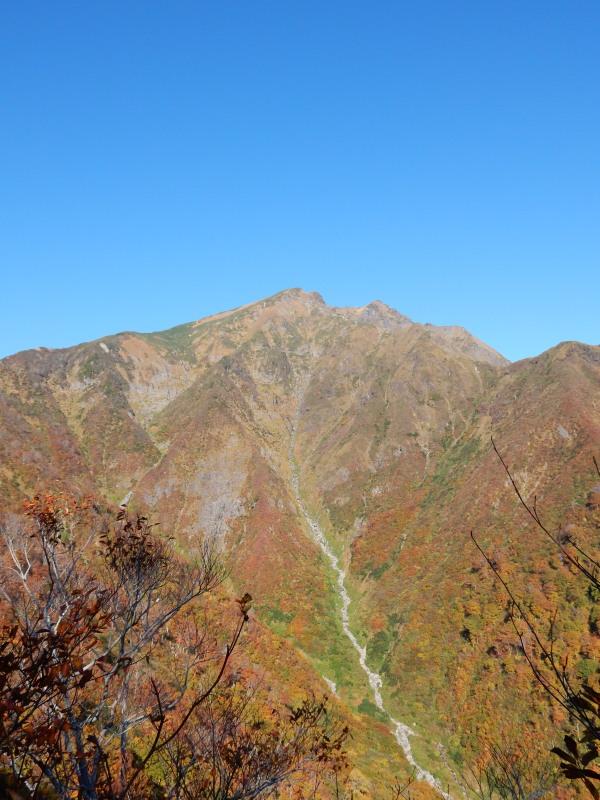 田尻尾根から谷川岳