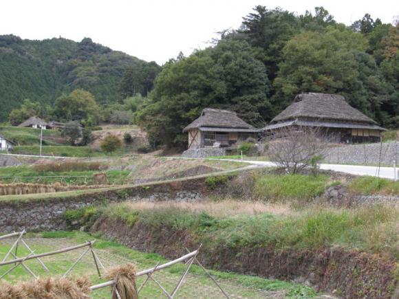 田舎の原風景残る、八塔寺ふるさと村